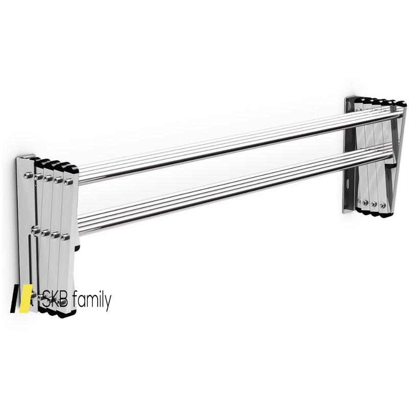 Stainless Wall Mounted Expandable Clothes Drying Towel Rack 200815-22261
