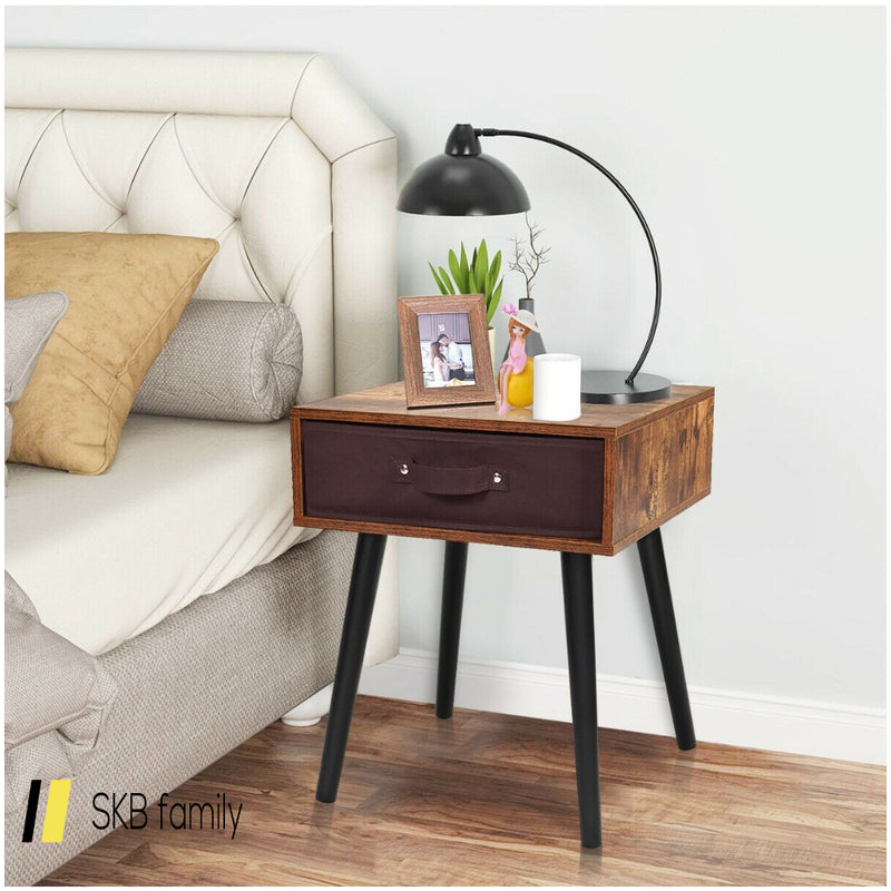 Mid-Century End Accent Bedside Table 200815-22267