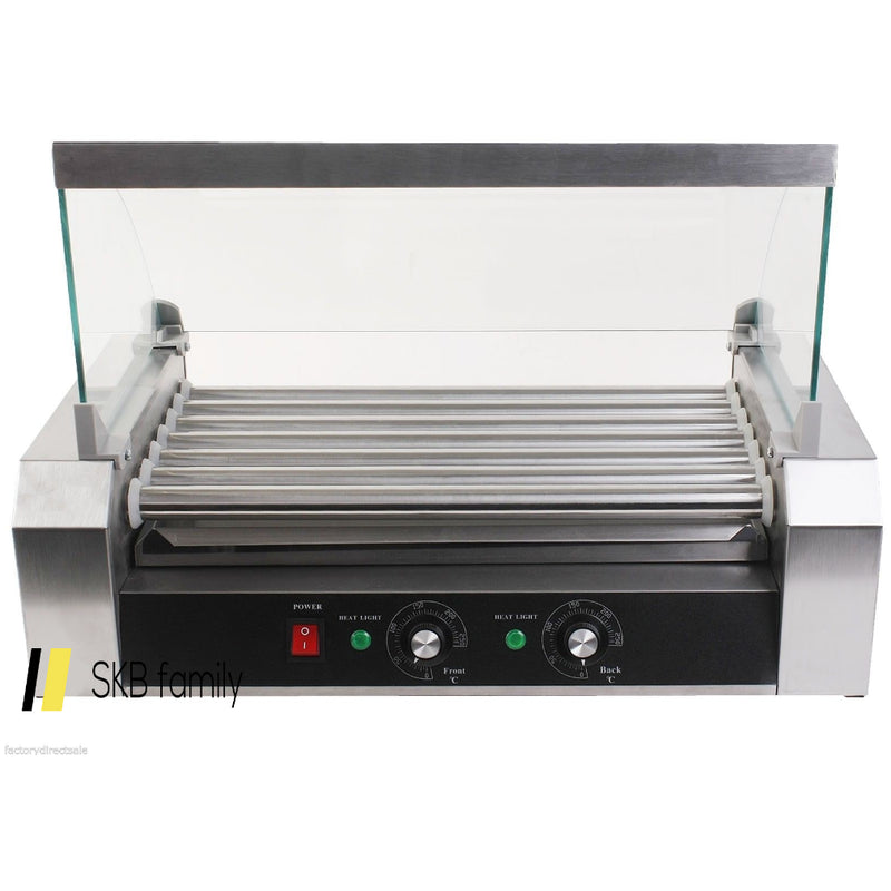 18 Hot Dog 7 Roller Grill Cooker Commercial Machine 200815-22285