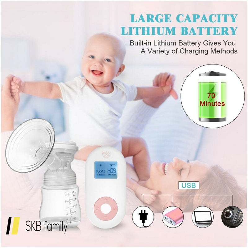 Electric Double Breastfeeding Pump With Expression & Massage Modes 200815-22290