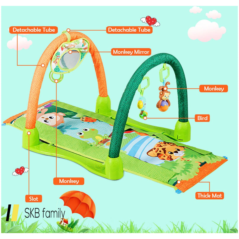 4-In-1 Baby Play Activity Center Gym Mat 200815-22291