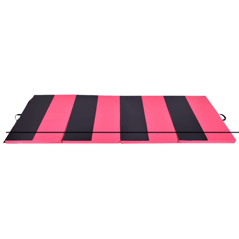 "4' X 10' X 2"" Folding Panel Thick Fitness Exercise Gymnastics Mat 200815-22294"