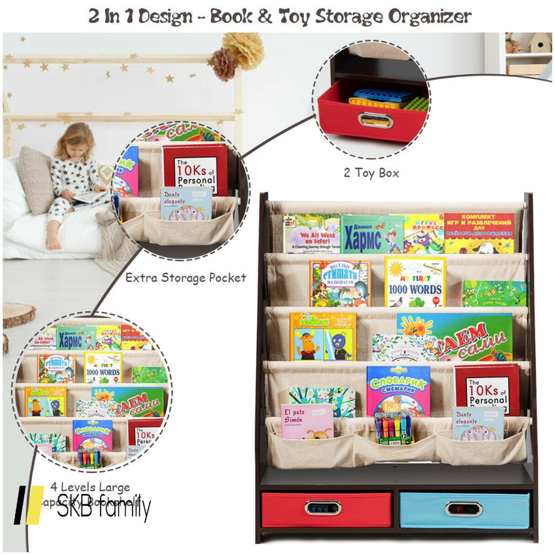 Kids Book And Toys Organizer Shelves 200815-22334
