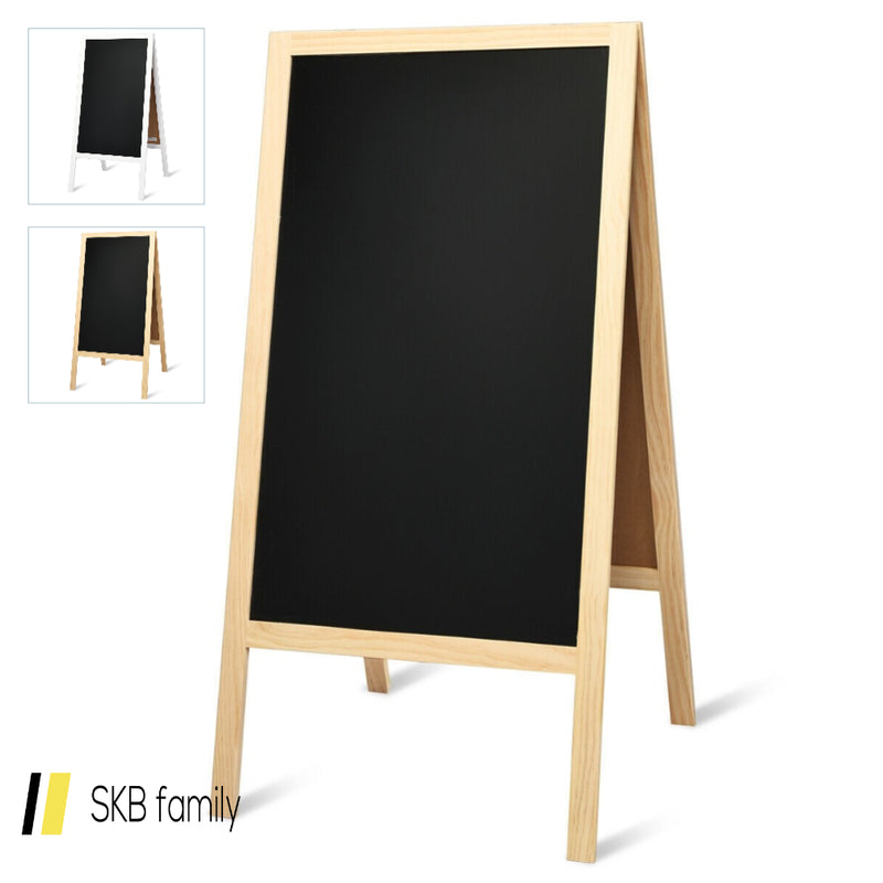 A-Frame Chalkboard Sign With Eraser & Chalk 200815-22377