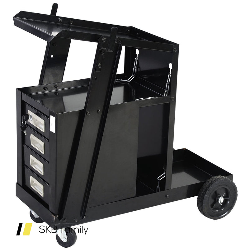 4 Drawer Cabinet Welding Cart Plasma Cutter 200815-22392