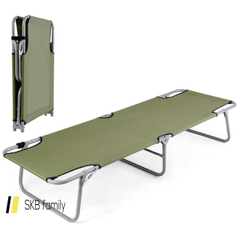 Portable Foldable Camping Bed Army Military Camping Cot 200815-22433
