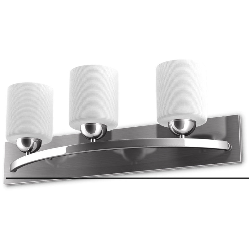 Glass Wall Sconce For 3 Bulbs 200815-22446