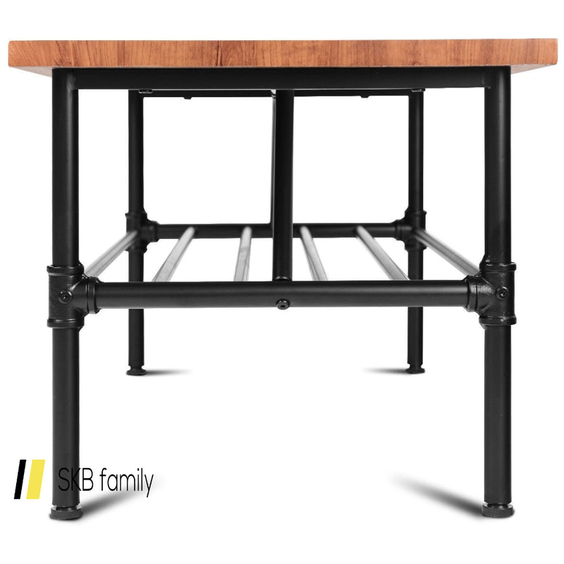 2-Tier Living Room Furniture Shelf Coffee Table 200815-22452