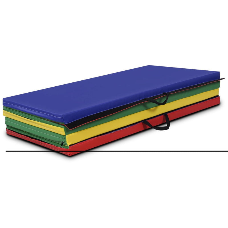 "4' X 8' X 2"" 4 Colors Folding Panel Gymnastics Mat 200815-22500"