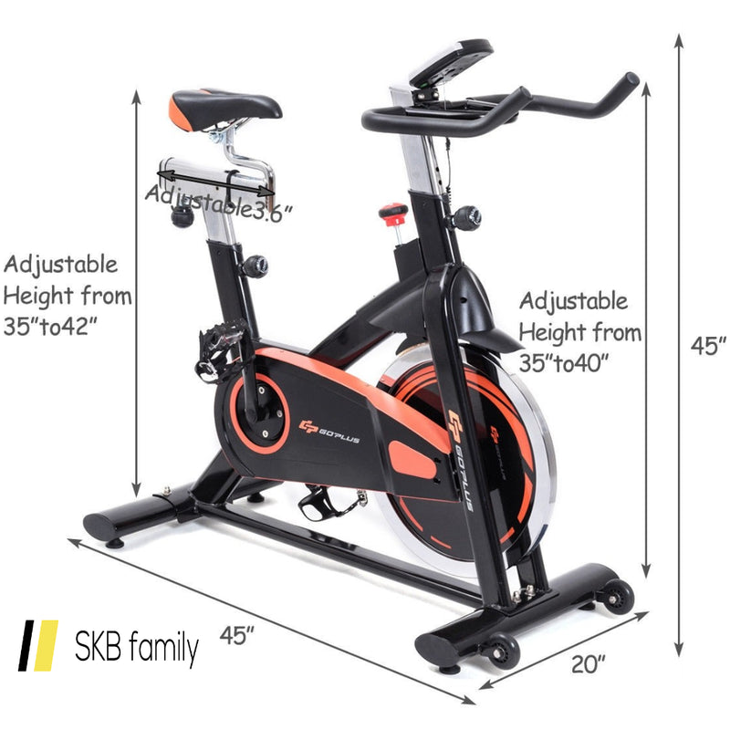 Indoor Workout Cardio Fitness Cycle Trainer Exercise Bike 200815-22517