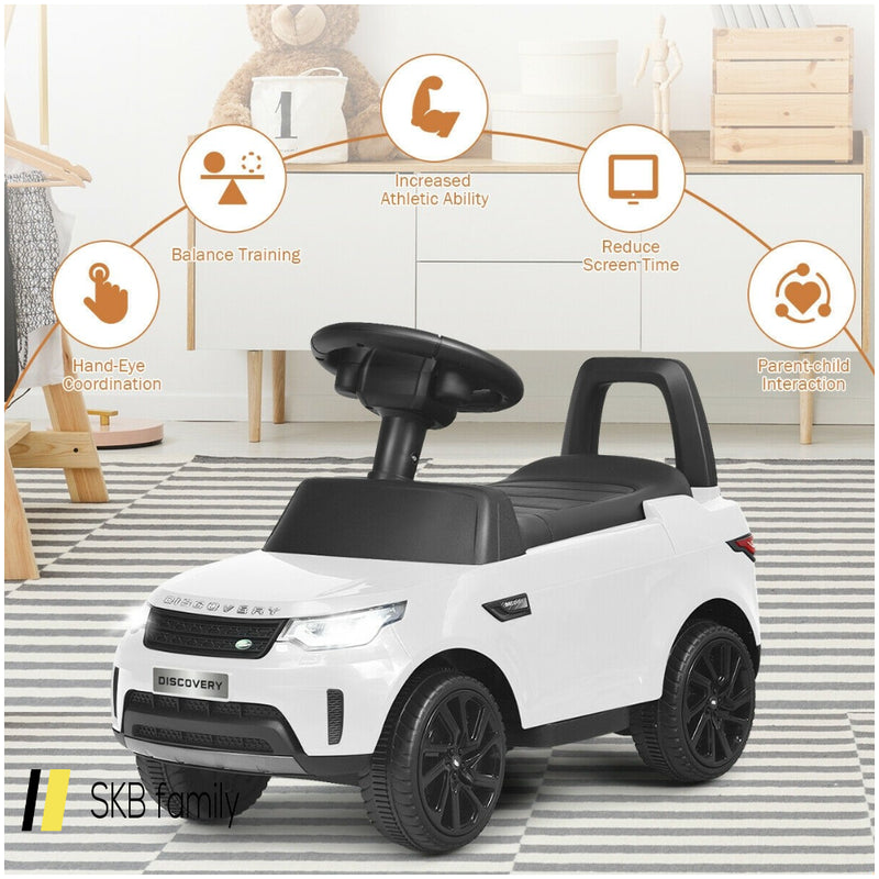 2-In-1 6v Land Rover Licensed Kids Ride On Car 200815-22678