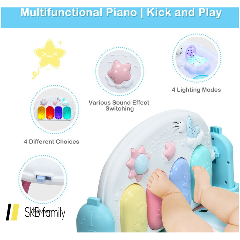 3-In-1 Fitness Music And Lights Baby Gym Play Mat 200815-22689