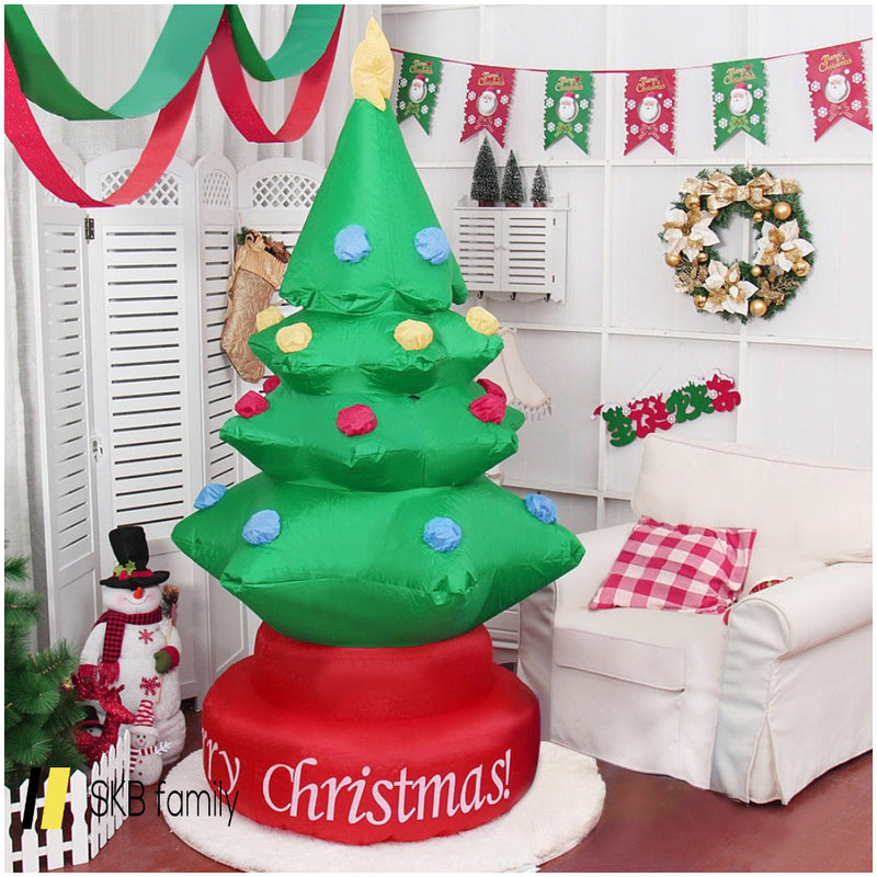 7' Indoor / Outdoor Rotary Inflatable Christmas Tree 200815-22690