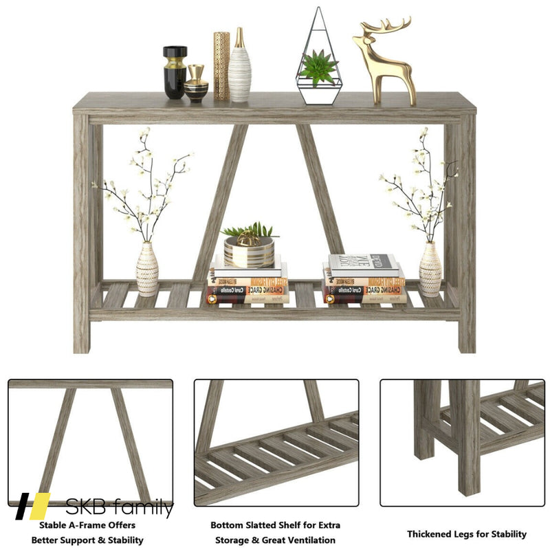 52 Inch Long Console End Sofa Table 200815-22732