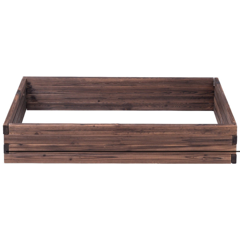 Elevated Wooden Garden Planter Box Bed Kit 200815-22763