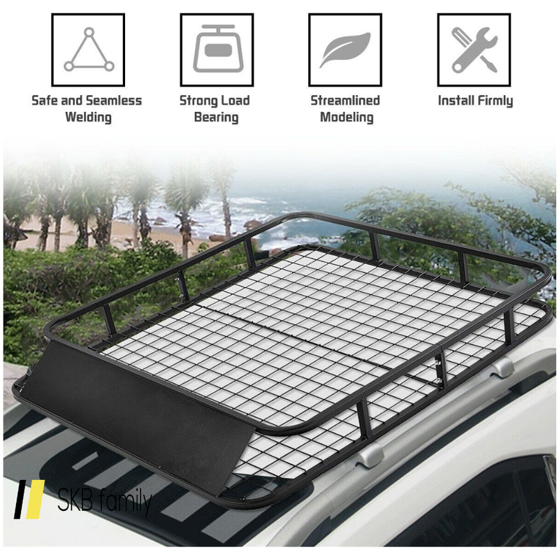 "48"" X 40"" Universal Basket Car Top Roof Rack 200815-22765"