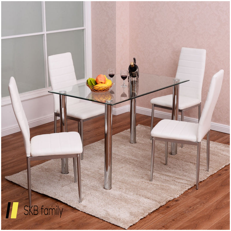 5 Pcs Dining Set With A Simple Design 200815-22771