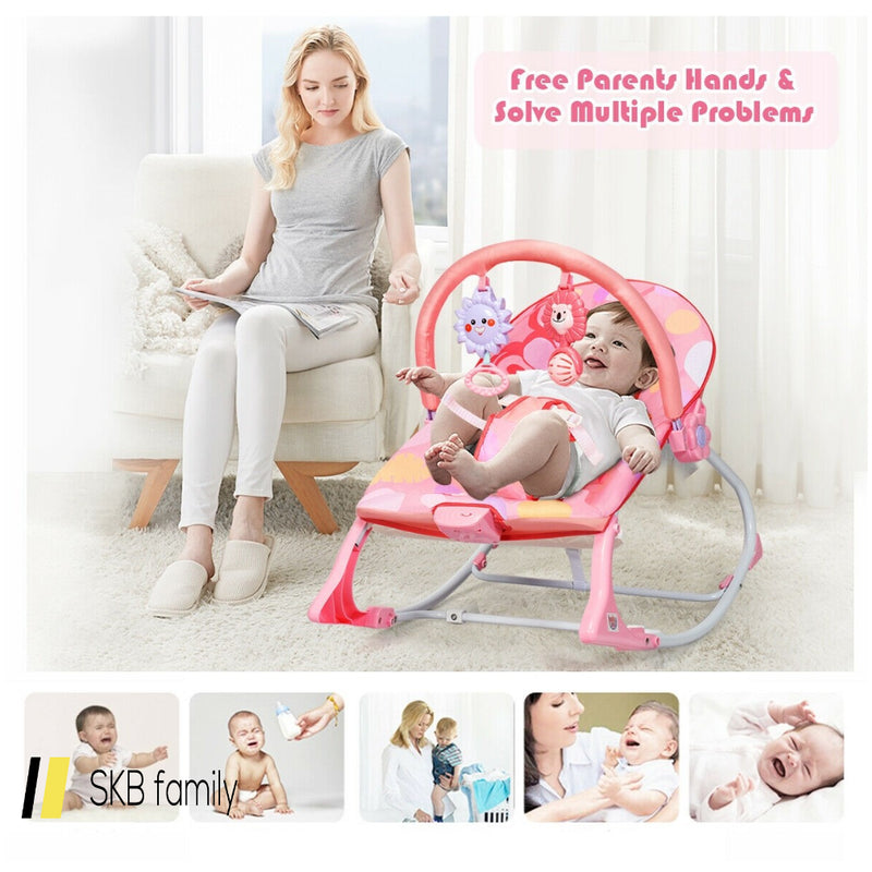 Adjustable Toddler Swing Bouncer & Rocker 200815-22791