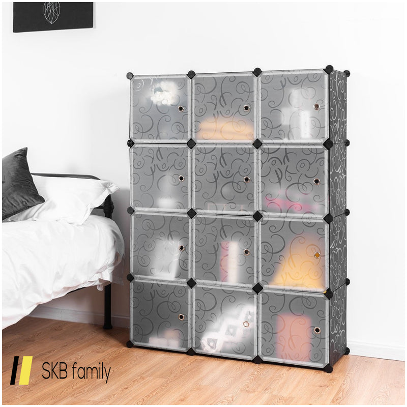 Diy 12 Cube Portable Closet Storage Organizer 200815-22801