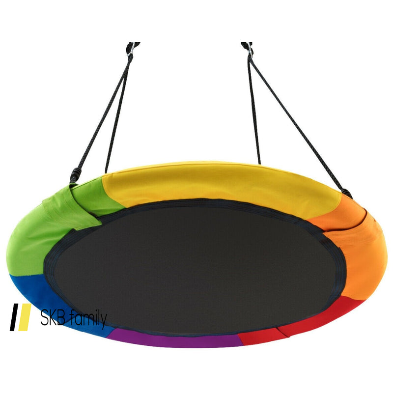 "40"" Flying Saucer Tree Swing Outdoor Play For Kids 200815-22892"