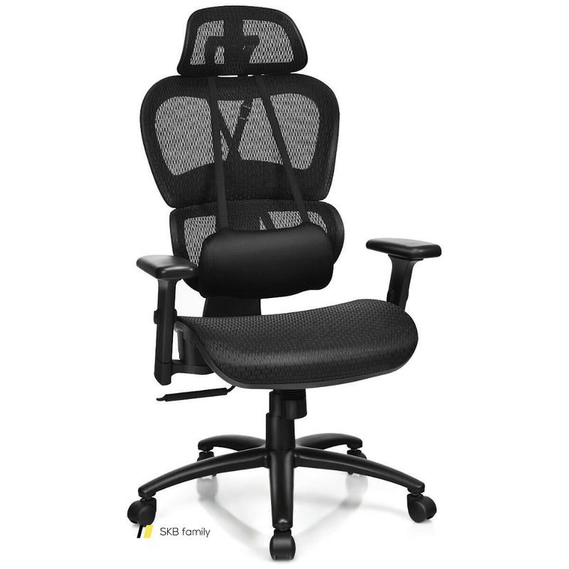 Mesh Office Chair Recliner Adjustable Headrest 200815-22906