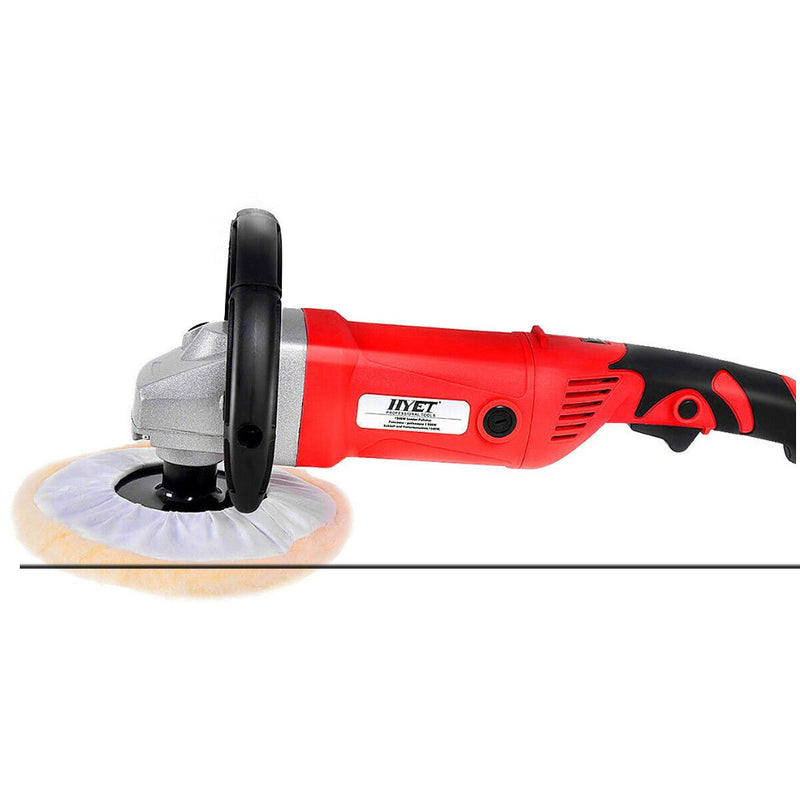 "7"" Variable Speed Multi-Functional Polisher Buffer Waxer W/ Accessories 200815-22914"