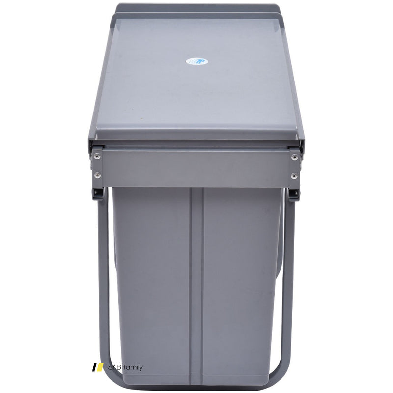 8 Gal 3 Compartment Pull Out Recycling Waste Bin 200815-23011