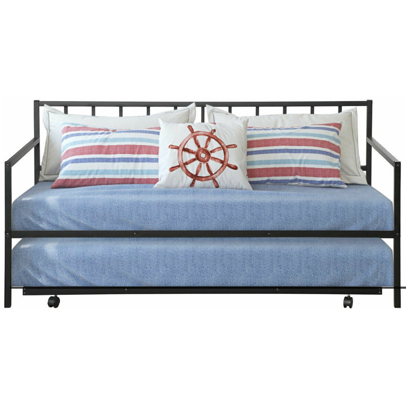Twin Size Daybed And Trundle Frame Set Trundle Bed 200815-23028