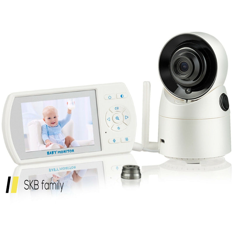 Security Video Baby Monitor With Tilt-Zoom Auto Camera 200815-23050