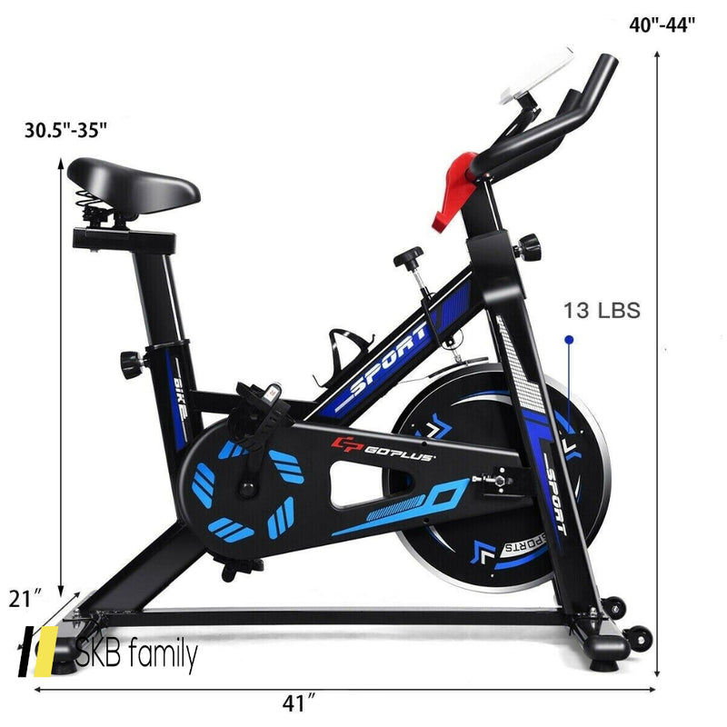 Lcd Display Fitness Cardio Workout Cycling Exercise Bike 200815-23061