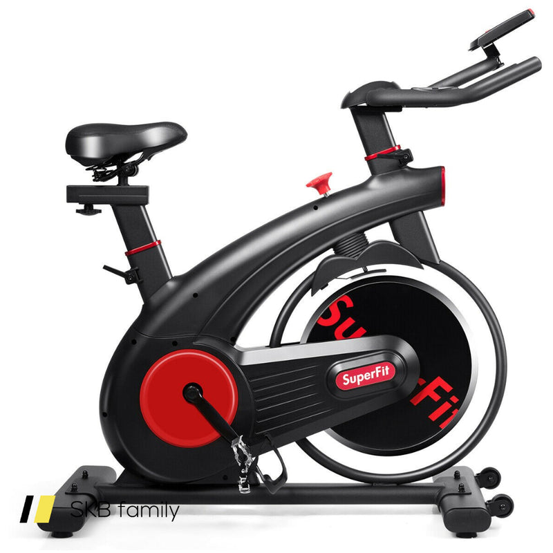 Stationary Exercise Bike Silent Belt With 20lbs Flywheel 200815-23109