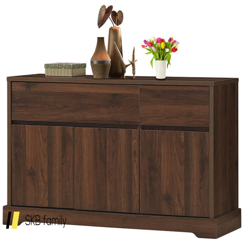 Buffet Sideboard Console Table Cabinet W/2 Storage Drawers 200815-23144