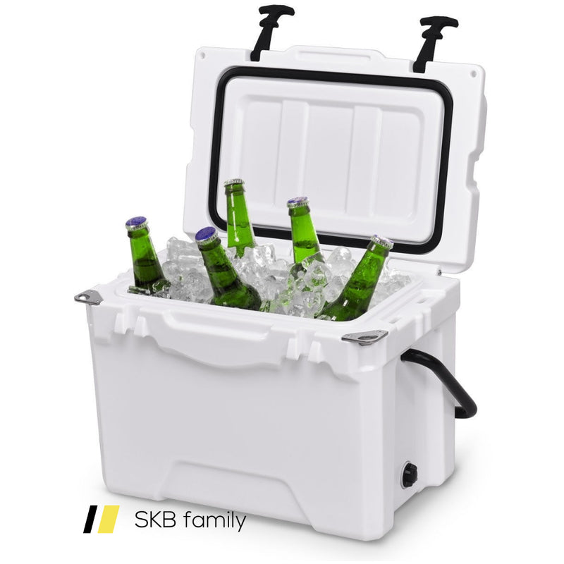 20qt Handle Lockable Fishing Camping Cooler Ice Chest 200815-23153