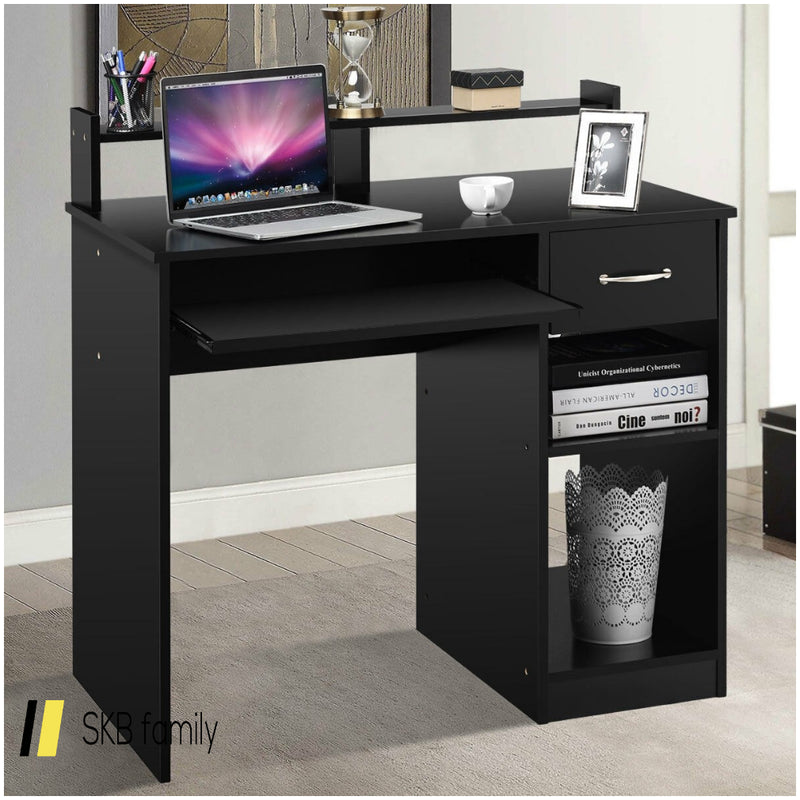 Home Office Study Pc Laptop Computer Desk With Drawer 200815-23154