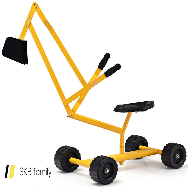 Heavy Duty Steel Frame Kid Ride-On Sand Digger 200815-23212