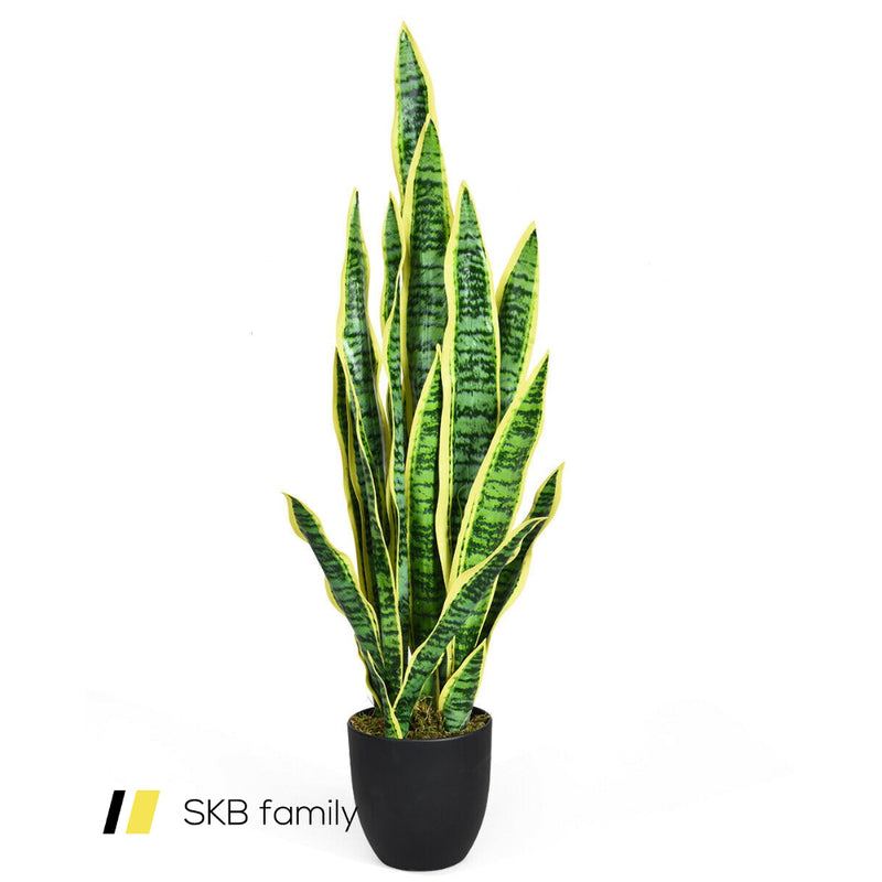 "35.5"" Indoor-Outdoor Decoration Fake Artificial Snake Plant 200815-23227"