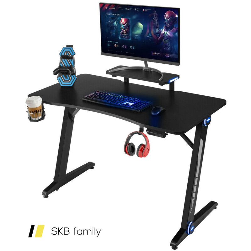 Gaming Desk Pc Computer Table With Rgb Lights 200815-23241