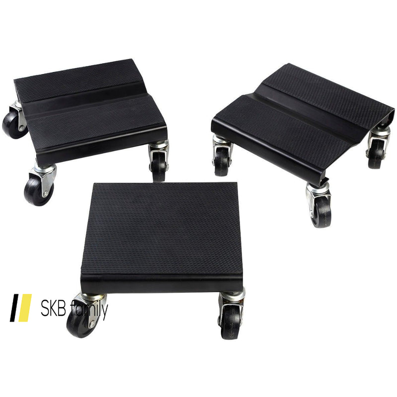 3 Pcs 1500 Lbs Snowmobile Roller Dolly Storage Dollies Mover 200815-23298
