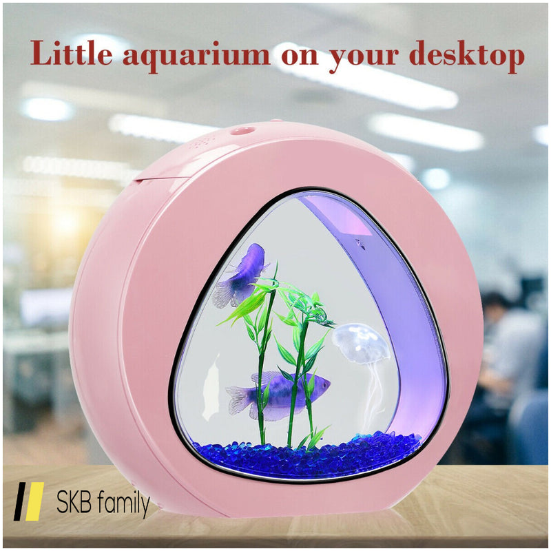 1gallon Fish Aquarium Tank With Filter Air Pump 200815-23305