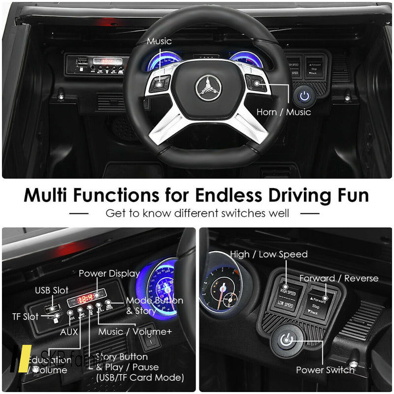 12v Licensed Mercedes-Benz Kids Ride On Car 200815-23318