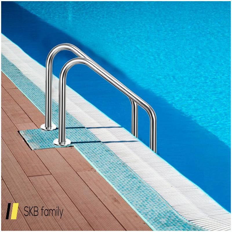3-Step Swimming Pool Ladder W/ Anti-Slip Steps 200815-23326