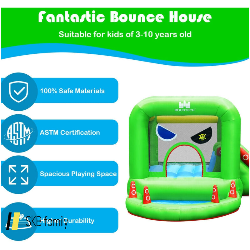 Inflatable Bouncer Kids Bounce House Jump Climbing Slide 200815-23334