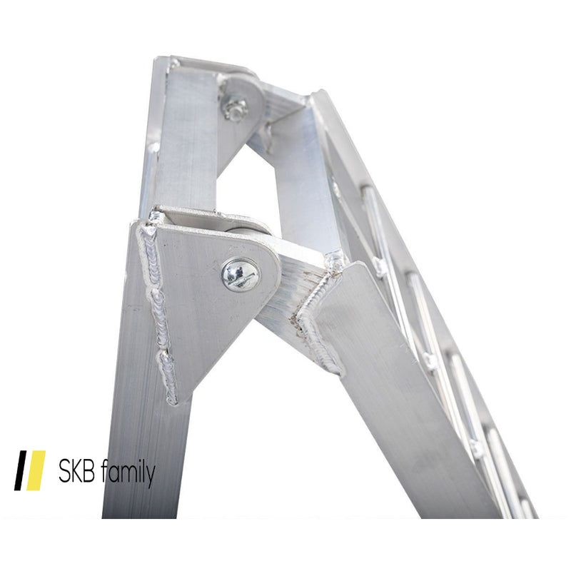 7.5' Arched Motorcycle Bike Folding Loading Ramps 200815-23350
