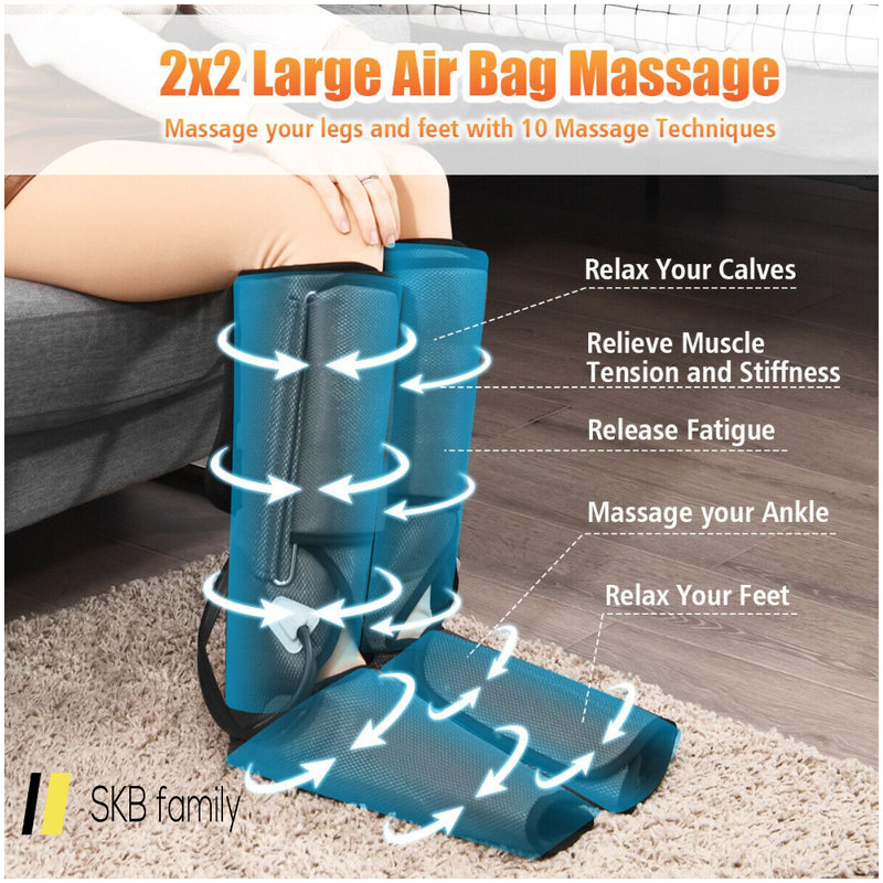 Leg Massager Air Compression For Circulation And Relaxation 200815-23386