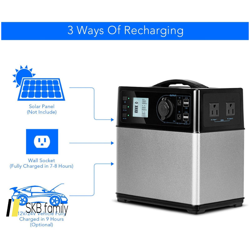 400 Wh Portable Solar Power Supply Energy Generator 200815-23391