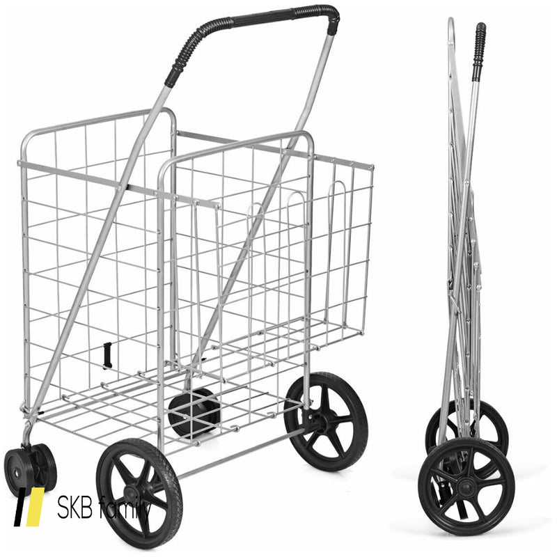 Utility Foldable Jumbo Shopping Cart 200815-23414