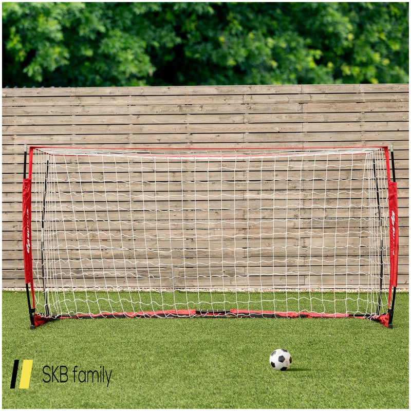 6'/8'/12' Durable Bow Style Soccer Goal Net With Bag 200815-23415