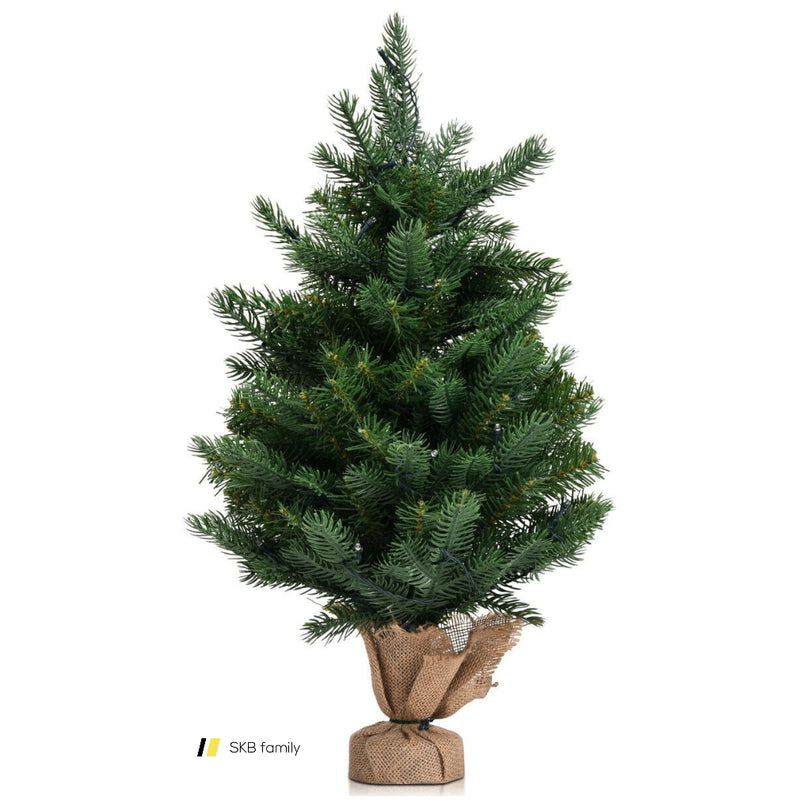 "24"" Tabletop Fir Artificial Christmas Tree With Led Lights 200815-23419"