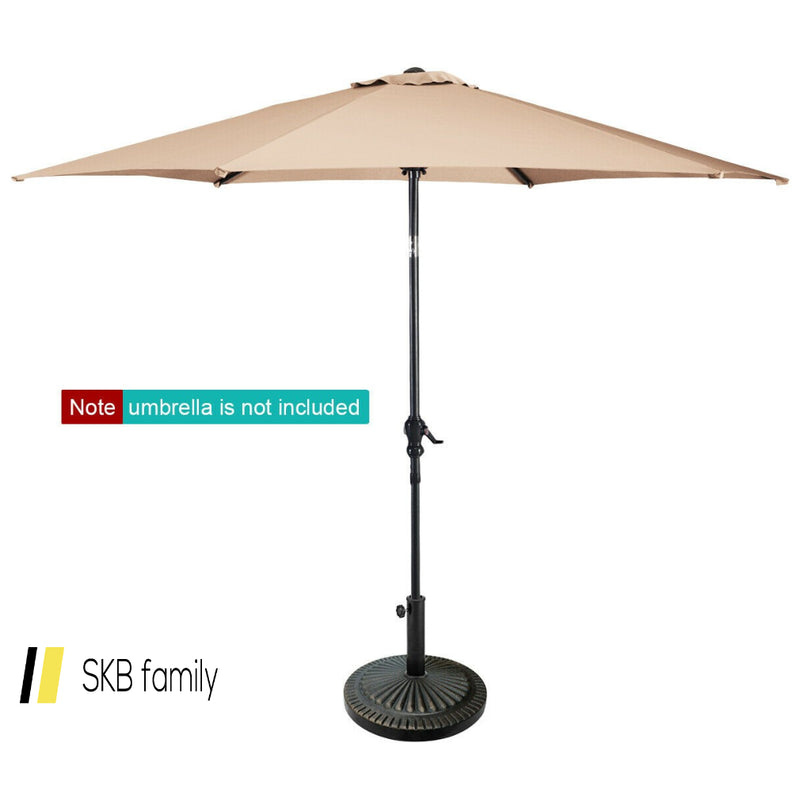 31.5 Lbs Market Heavy-Duty Outdoor Stand Bronze Umbrella Base 200815-23446