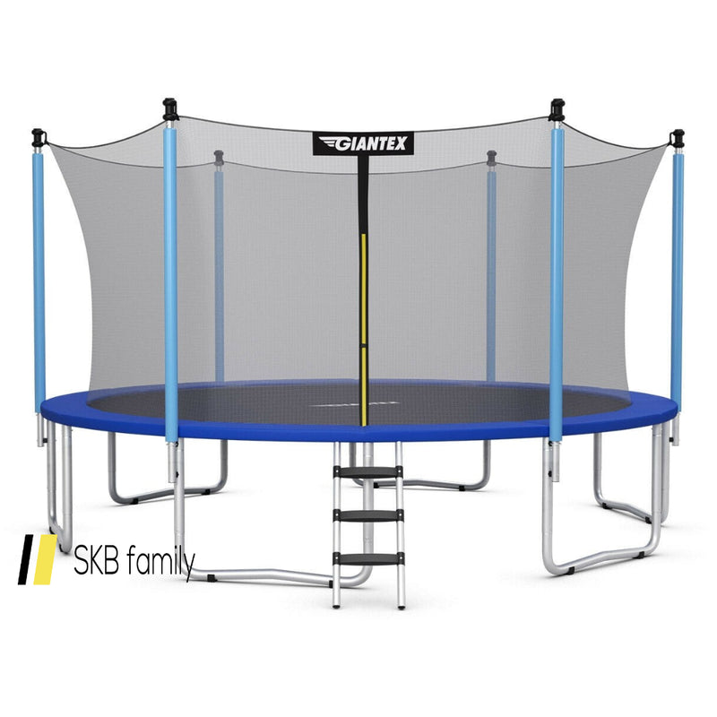 12 Ft Trampoline Combo Bounce With Spring Pad Ladder 200815-23447